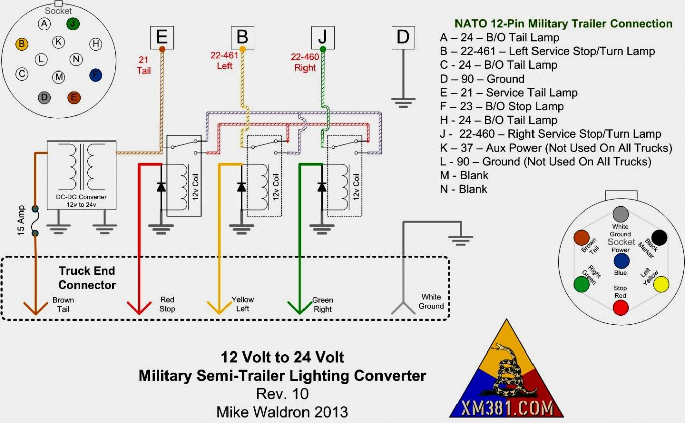 Wiring Diagram For A Semi Trailer Plug