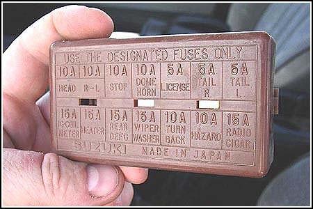 VD_1985] Suzuki Samurai Fuse Box Diagram Besides Suzuki Sidekick Fuse Box  Free DiagramHete Lexor Kweca Sand Pap Hendil Mohammedshrine Librar Wiring 101