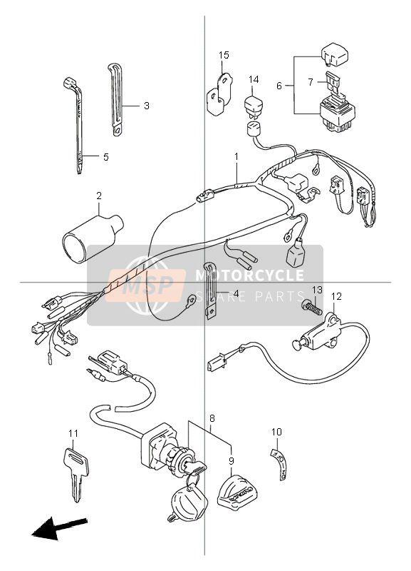 2005 Suzuki Lt80 Wiring Diagram