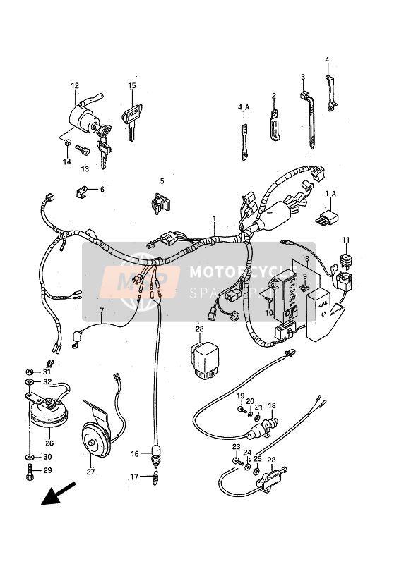 Gz 9924 Electrical Wiring Diagram Of 1988 1991 Suzuki Vs750 Intruder For Uk Part 1 Free Diagram