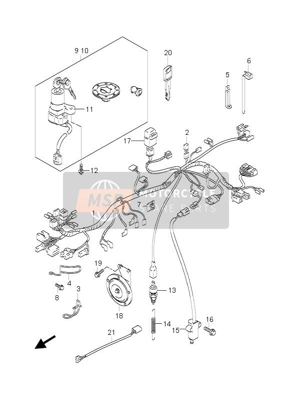 2006 Suzuki Gs500 Wiring Diagram
