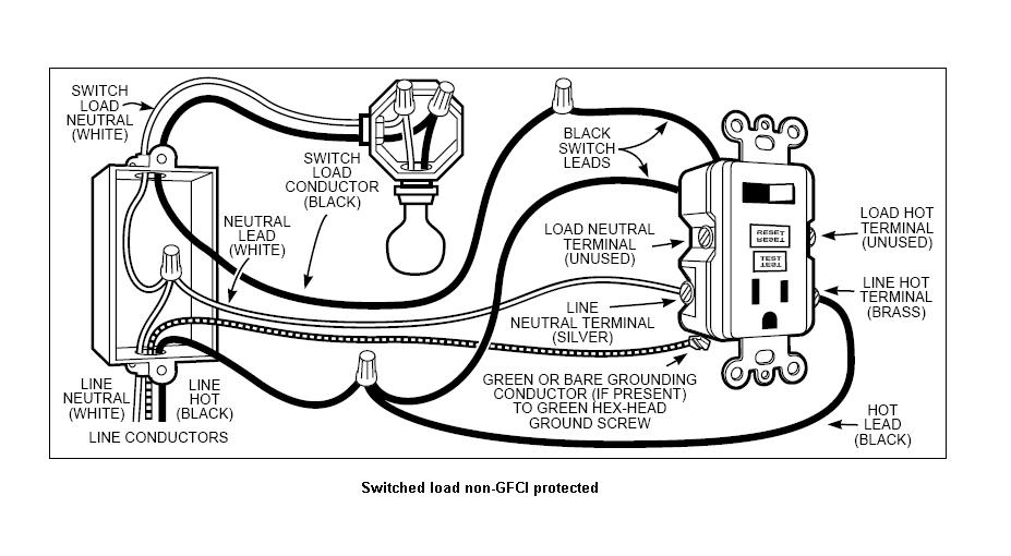 Cooper Gfci Combination Switch Wiring Diagram