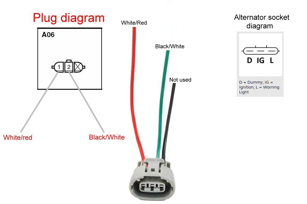 suzuki samurai alternator wiring diagram xl 4170  suzuki alternator wiring  xl 4170  suzuki alternator wiring