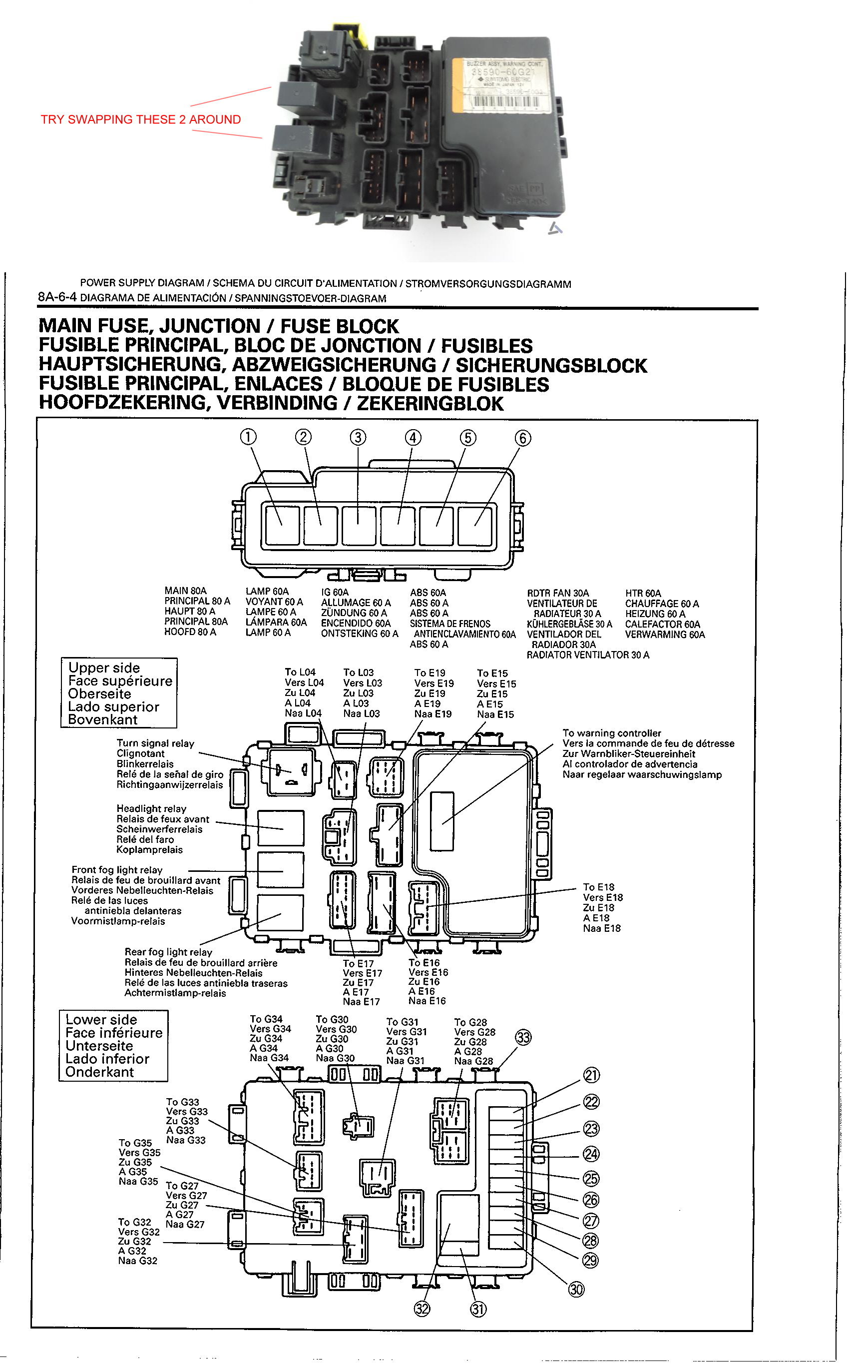 Suzuki Grand Vitara 1998 Wiring Diagram