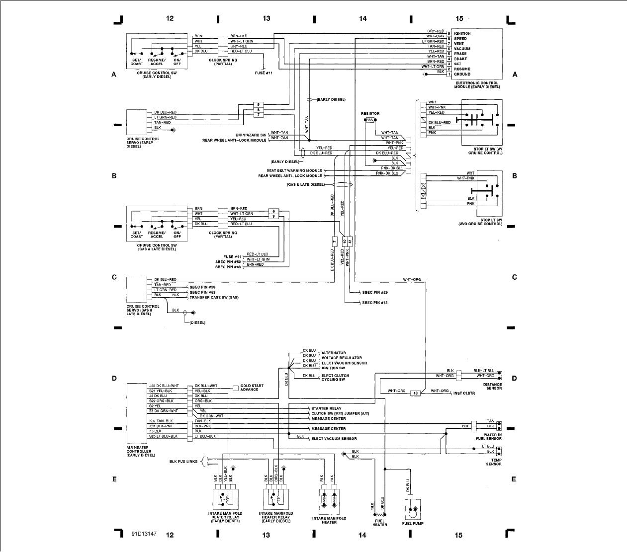1991 Dodge Ram Wiring Diagram Wiring Diagram Aperture A Aperture A Zaafran It