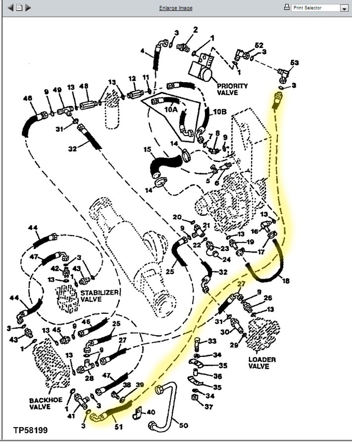 Hh 6223  Bobcat Control Valve Diagram Wiring Diagram