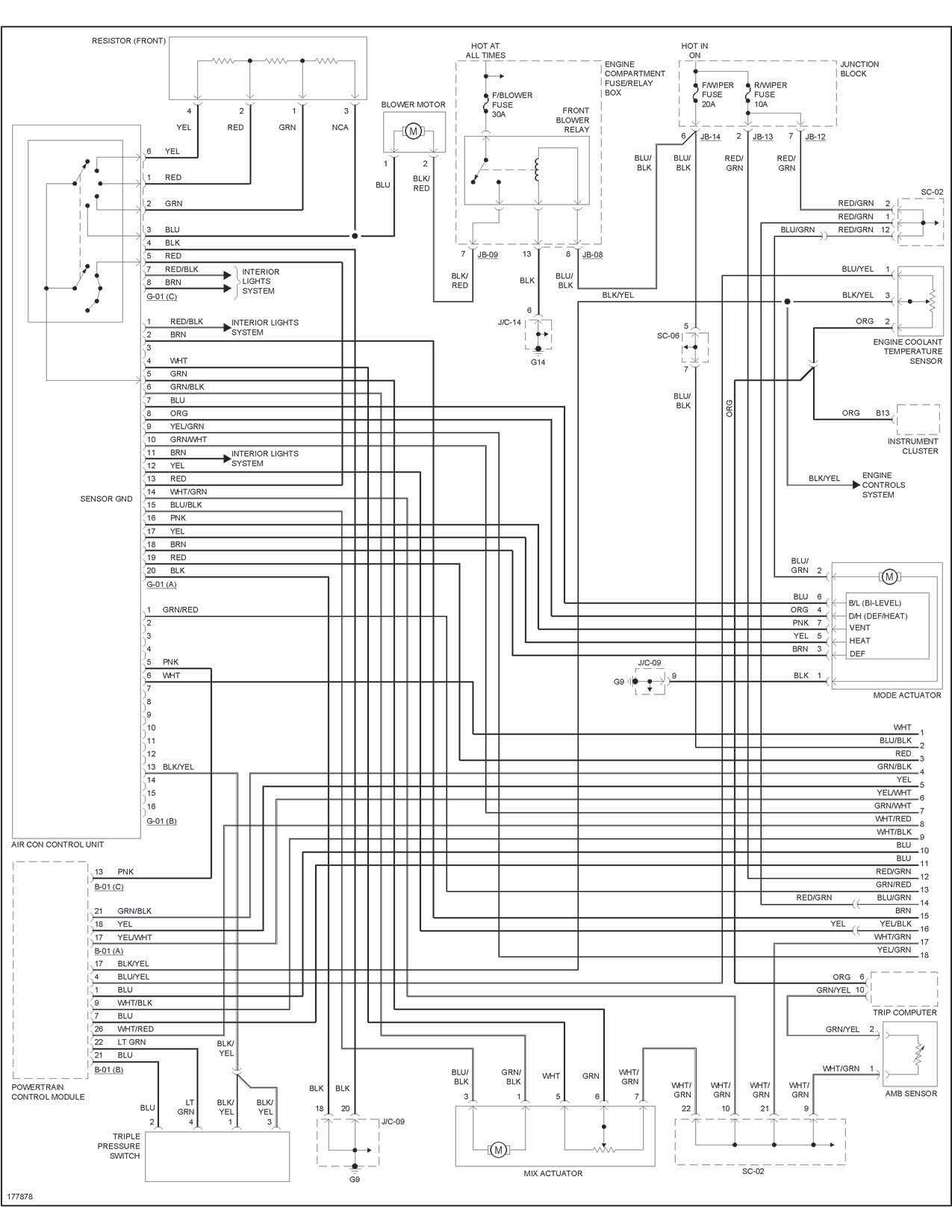 VCQ 40] 40 Kia Spectra Heater Wiring Diagram   electrical ...