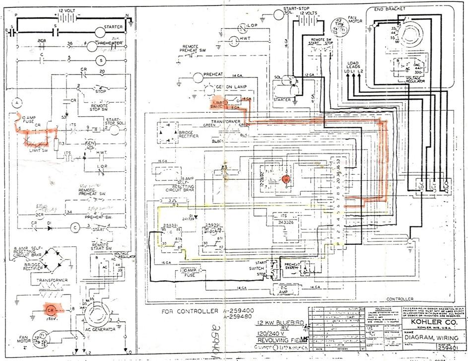 Kohler Generator Wiring Schematics Bryant Electric Furnace Thermostat Wiring Color Code For Bedebis Waystar Fr
