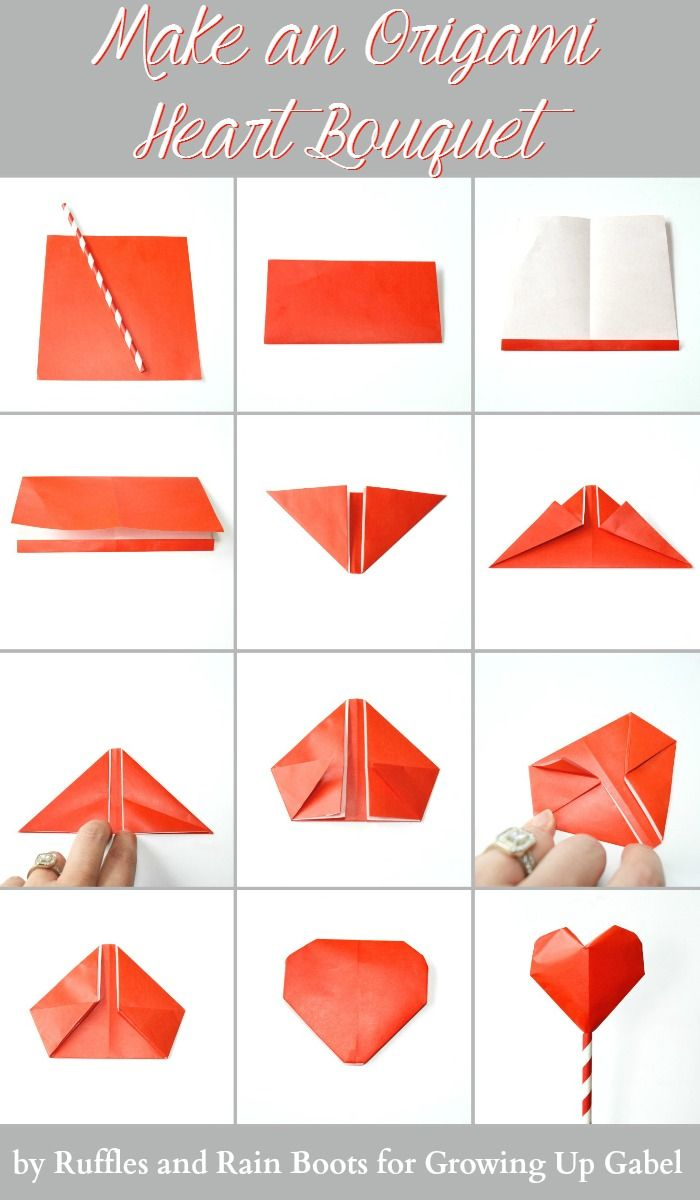 How to Fold an Origami Heart with Wings « Origami :: WonderHowTo | 1200x700