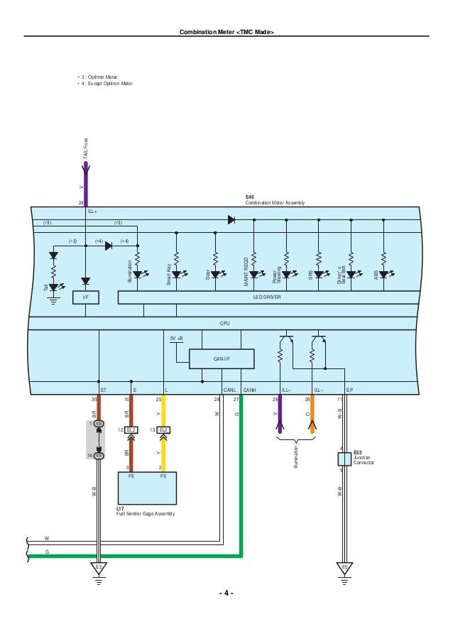 2004 toyota corolla electrical wiring routing  underhood