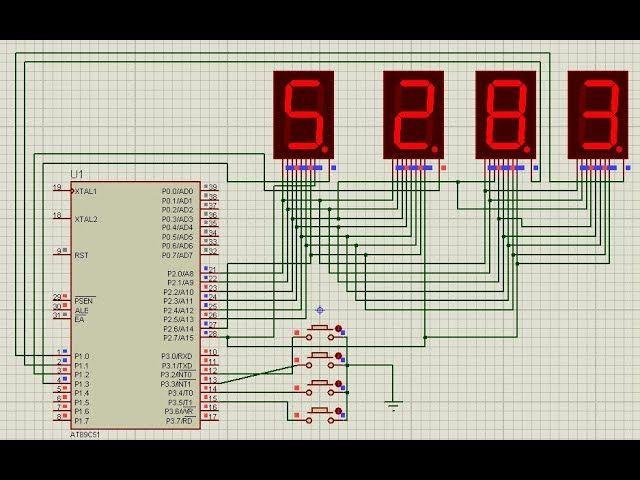 Astounding Electronic Voting Machine Using 8051 Microcontroller With 7 Segment Wiring Cloud Dulfrecoveryedborg
