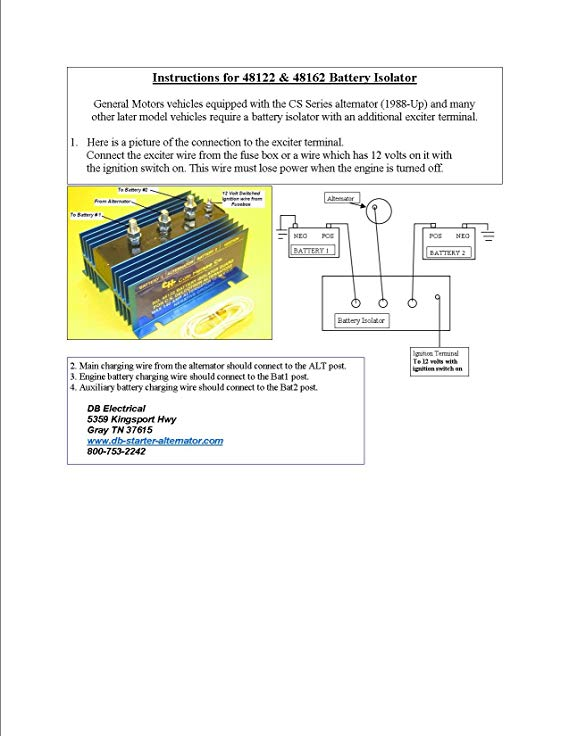 re4376 12 volt isolator wiring diagram wiring diagram