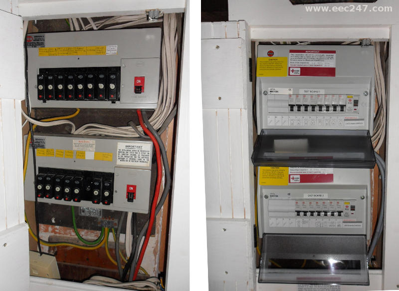 Terrific Eec247 Consumer Units And Fuseboxes Installed To The Latest Iee Wiring Cloud Rineaidewilluminateatxorg