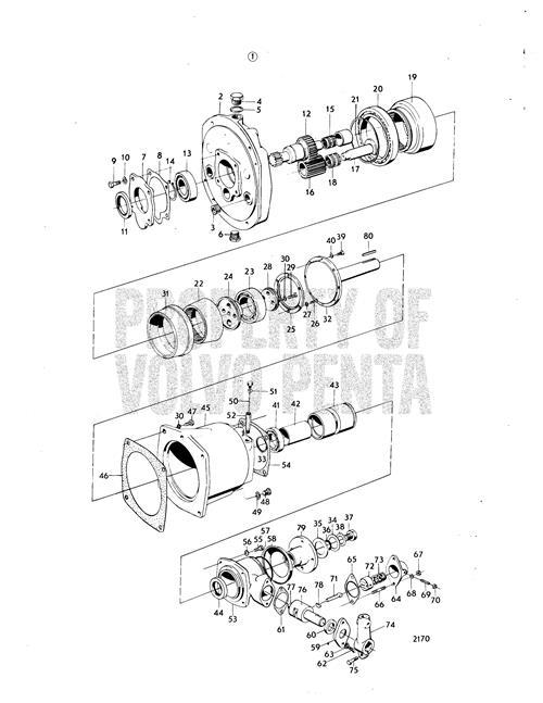 Volvo Penta Vortech Wiring Diagram