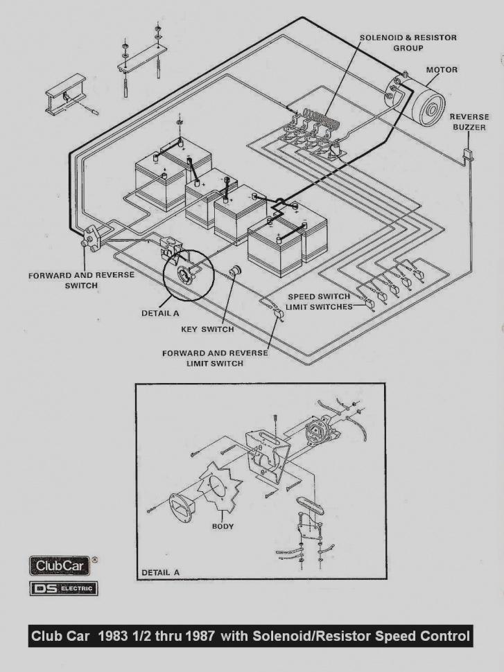 vintage golf cart wiring diagram club car