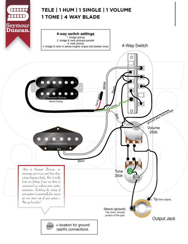 ny3573 fender tele 4way pickup selector switch wiring jpg