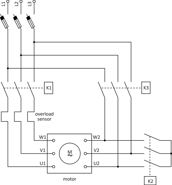 Br 7341 Phase Motor Star Delta Connection On Phase Motor Winding Diagrams Free Diagram