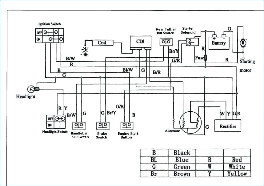 50cc Moped Wiring Diagram