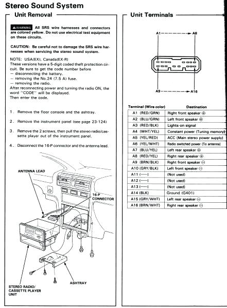 2002 Honda Cr V Radio Wiring Diagram - Furnace Fan Wiring Diagram for Wiring  Diagram SchematicsWiring Diagram Schematics