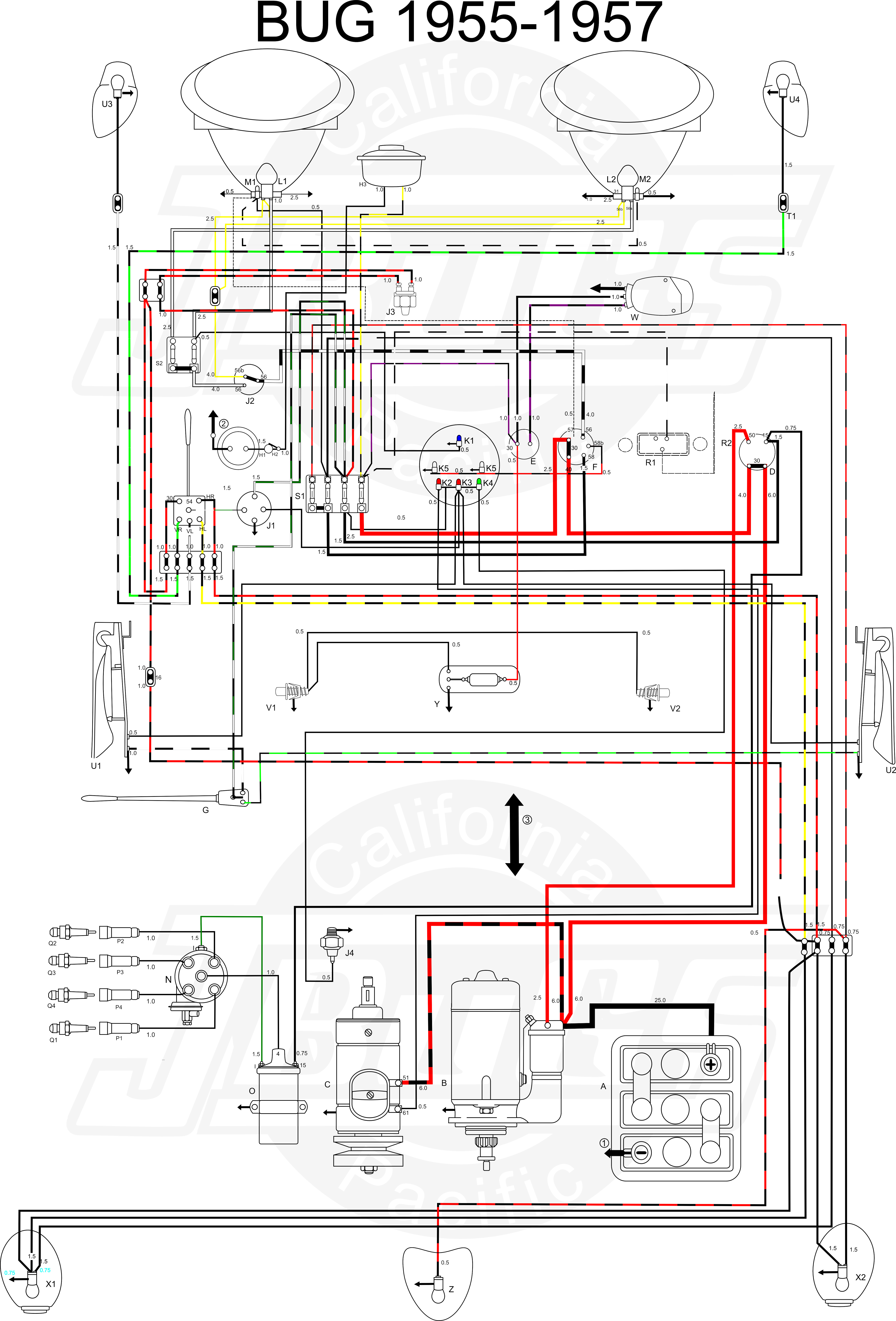 Prime Diagram Parts Bug Basic Electronics Wiring Diagram Wiring Cloud Uslyletkolfr09Org