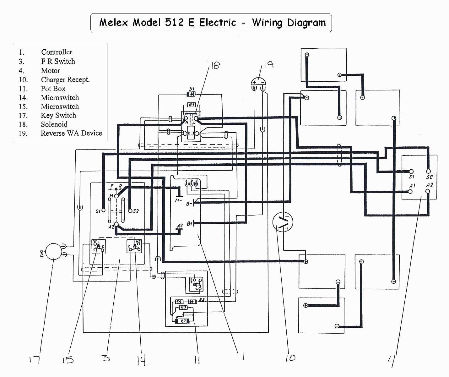 Pleasant 48 Volt Golf Cart Wiring Diagram Wirings Diagram Wiring Cloud Grayisramohammedshrineorg