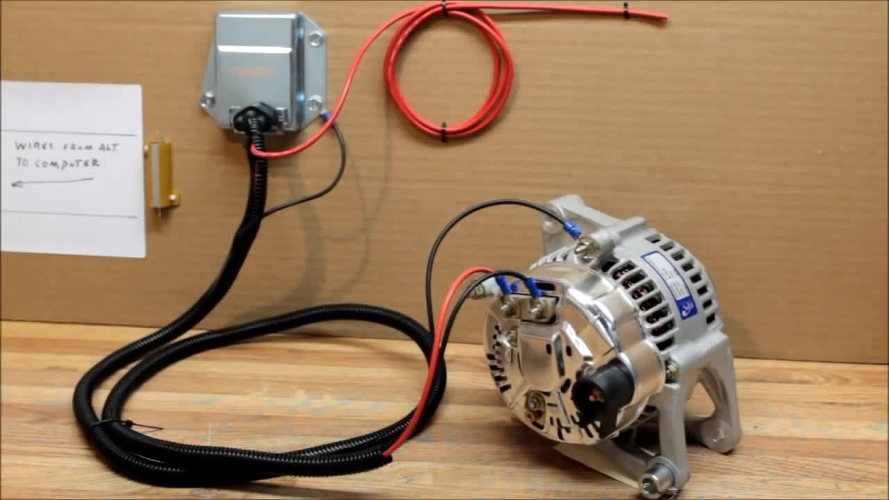 Bd 1295 Dodge External Voltage Regulator Kit Wiring Install External Voltage Schematic Wiring
