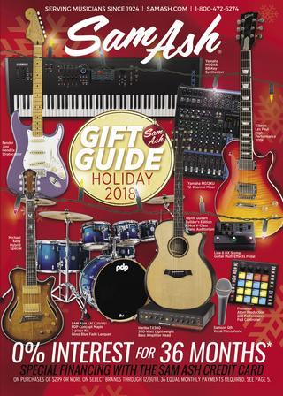 Wondrous Holiday 2018 Sam Ash Gear Guide By Sam Ash Music Corp Issuu Wiring Cloud Domeilariaidewilluminateatxorg