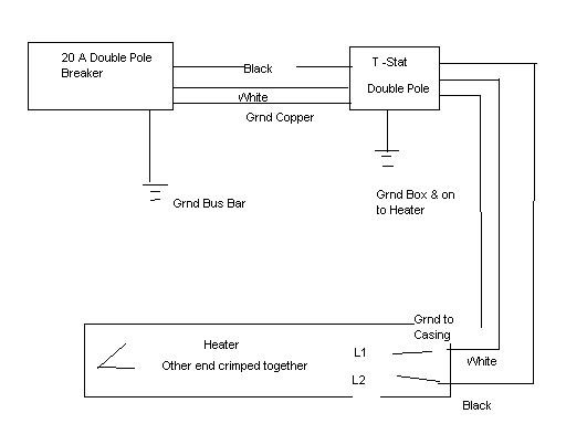Bs 0982 240v Baseboard Heater Wiring Directions Schematic Wiring
