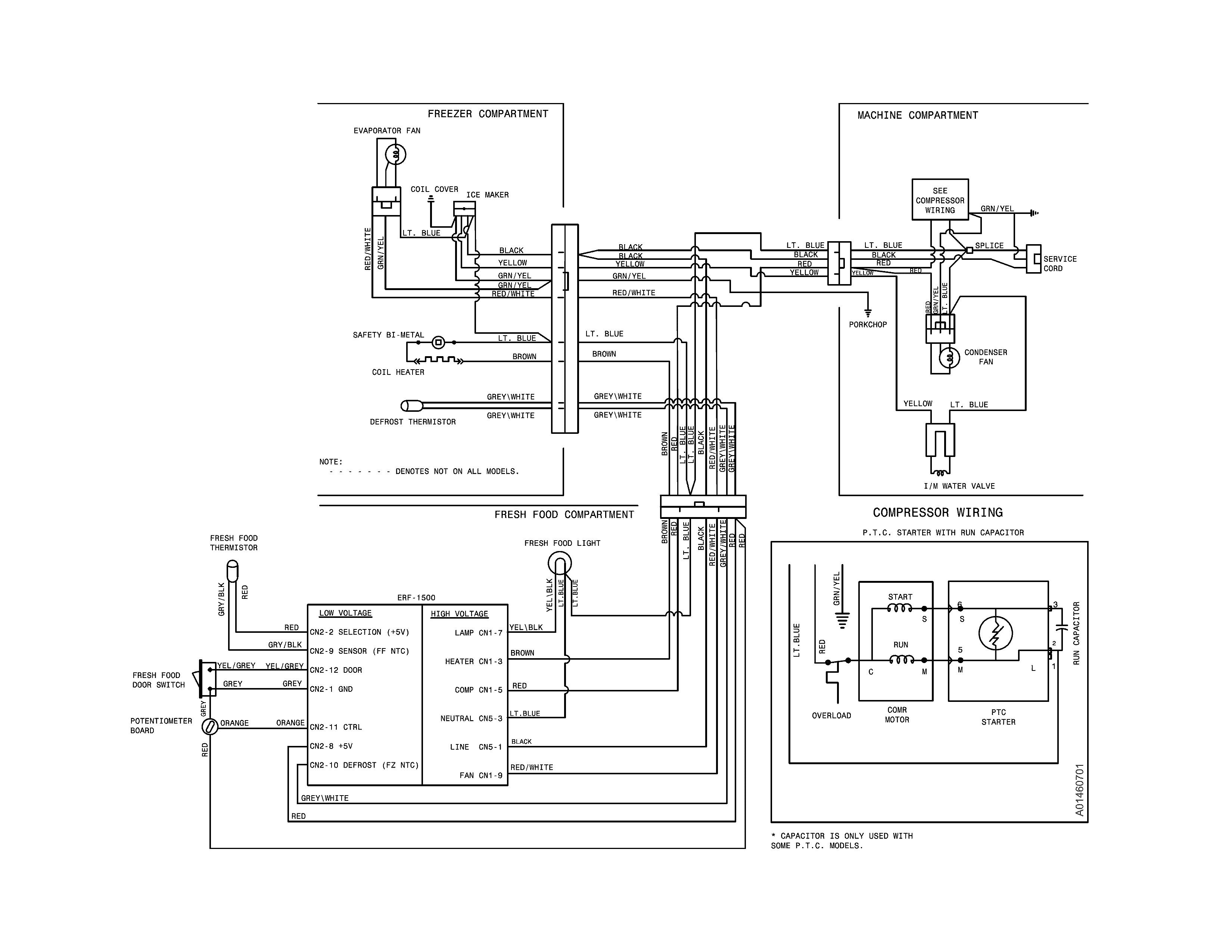 SH_0002] Fridgedarie Refrigerator Compressor Wiring Diagram Wiring DiagramOgeno Omit Benkeme Mohammedshrine Librar Wiring 101