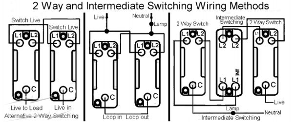 Cf 6270 Using 2way And 3way Switches As 1way Or 2way Schematic Wiring