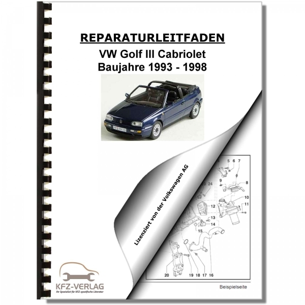 Surprising Vw Golf 3 Cabrio 1E 1V 93 98 Schematics Wiring Diagrams Electrical Wiring Cloud Licukosporaidewilluminateatxorg