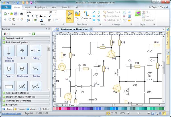 Astounding Drawing Software Electronic Circuit Drawing Software Electrical Wiring Cloud Rineaidewilluminateatxorg