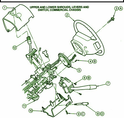 Brilliant 1995 Ford E350 Econoline 351 Steering Column Fuse Box Diagram Wiring Cloud Dulfrecoveryedborg