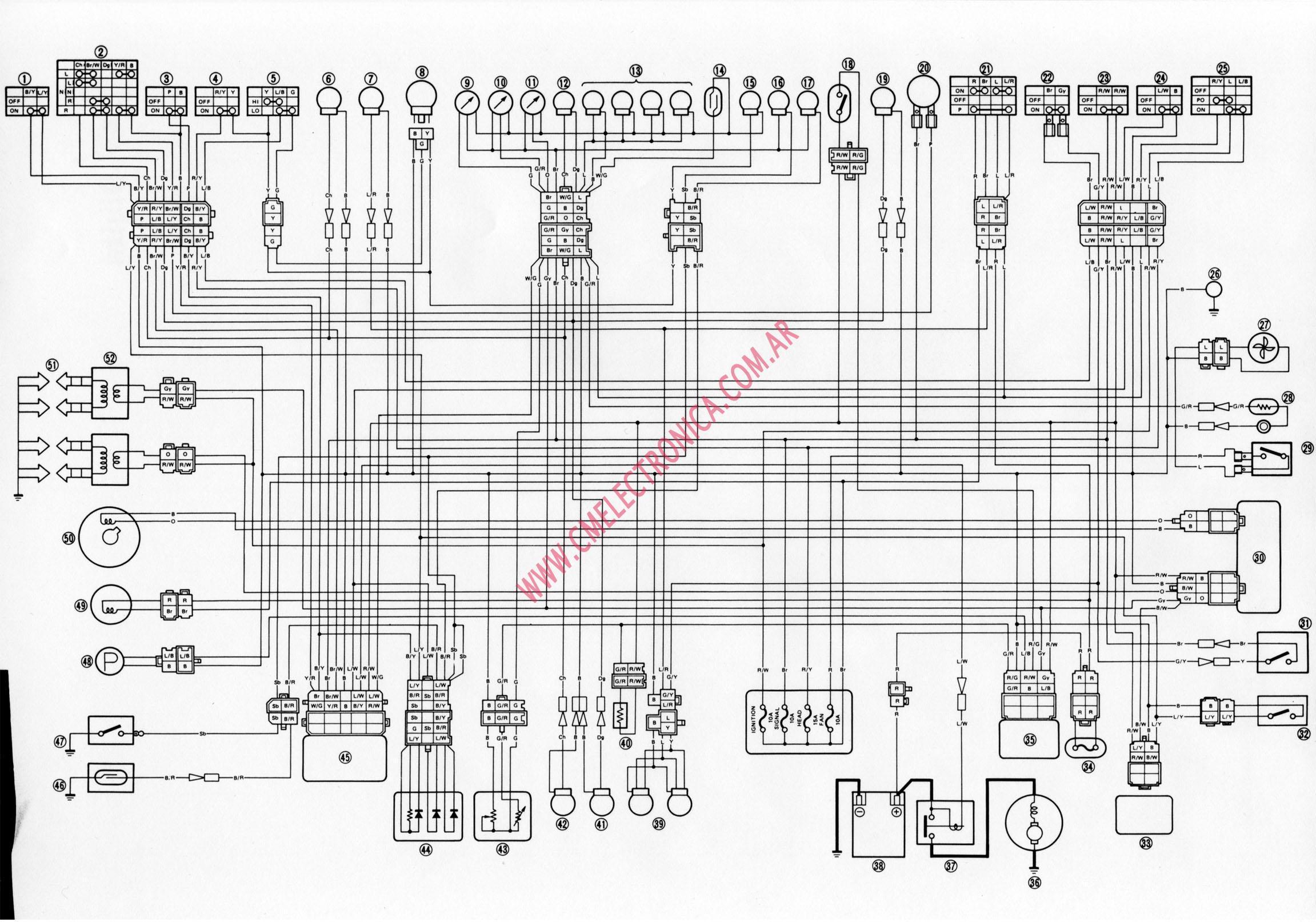 Yamaha Yzf 750 Wiring Diagram - Wiring Diagram