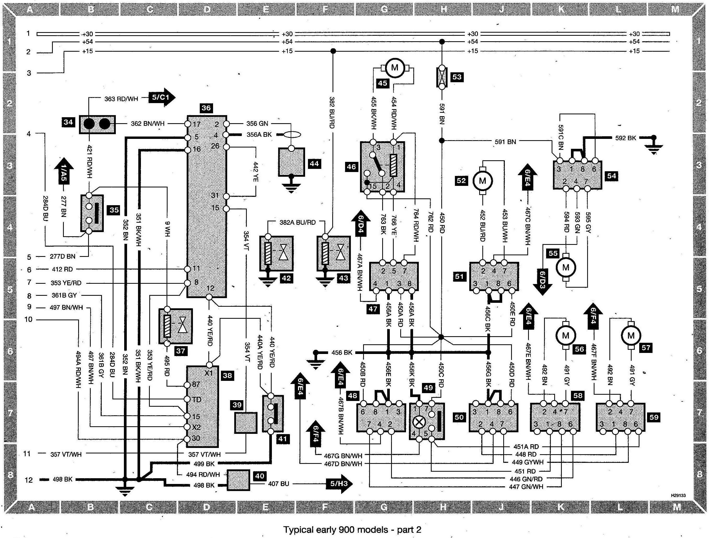 1992 saab 900 wiring harness gw 8105  1989 toyota land cruiser cooling fan wiring diagram  1989 toyota land cruiser cooling fan