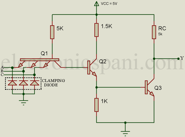 Groovy Transistor Transistor Logic Gate Electronics Tutorials Wiring Cloud Uslyletkolfr09Org