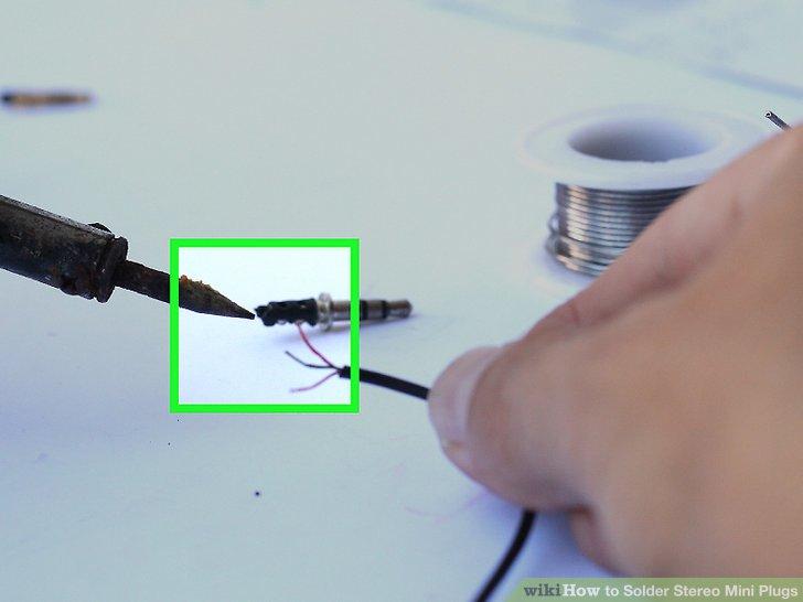 Peachy How To Solder Stereo Mini Plugs 8 Steps With Pictures Wikihow Wiring Cloud Histehirlexornumapkesianilluminateatxorg