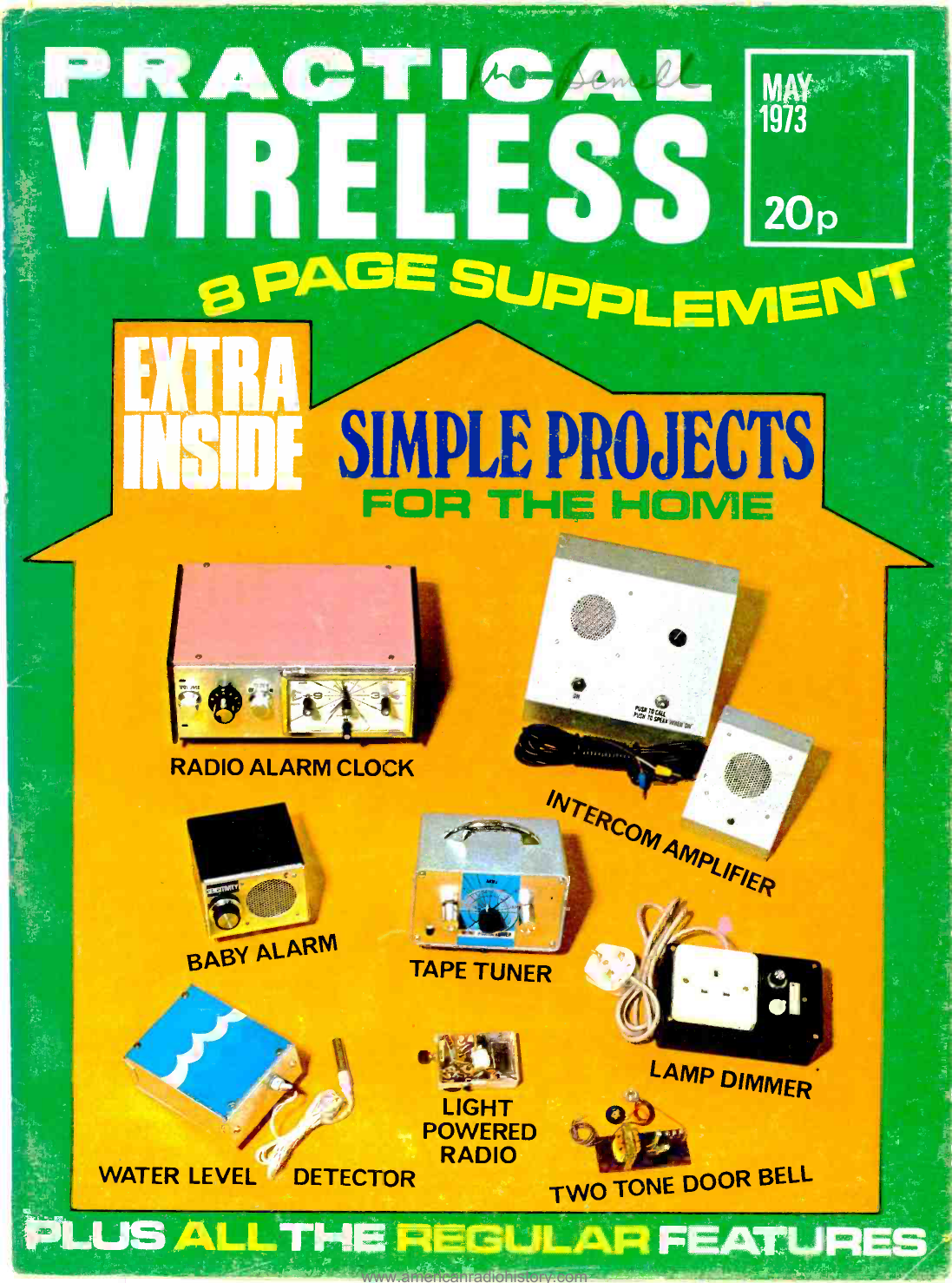 Enjoyable Simple Projects American Radio History Manualzz Com Wiring Cloud Overrenstrafr09Org