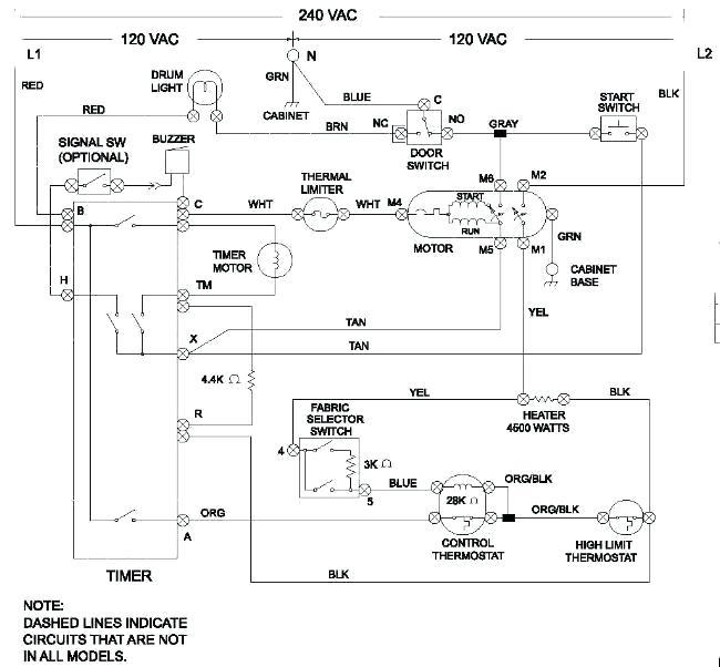 ee6277 electric dryer wiring diagram including kenmore