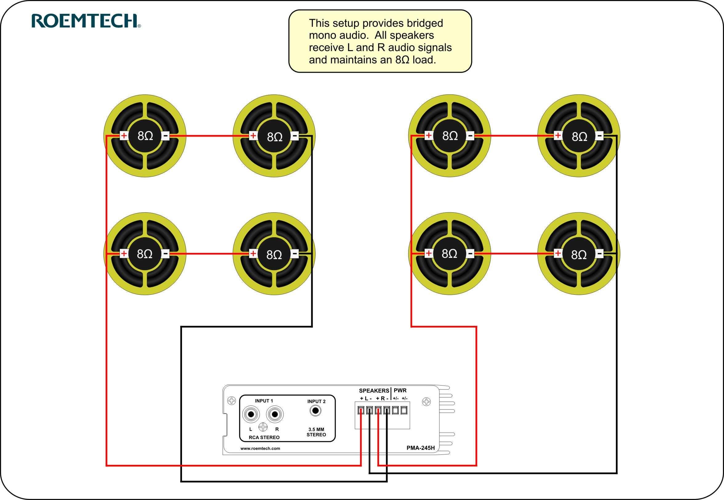 Peachy Classroom Audio Systems Multiple Speaker Wiring Diagram Home Wiring Cloud Staixaidewilluminateatxorg