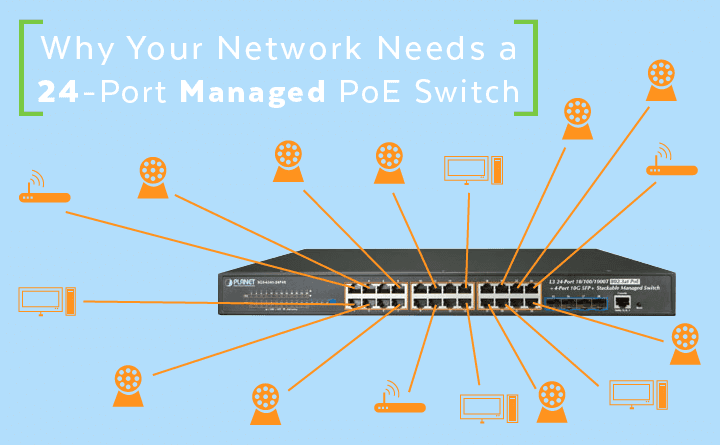 Fabulous Why Your Network Needs A 24 Port Managed Poe Switch Wiring Cloud Onicaxeromohammedshrineorg