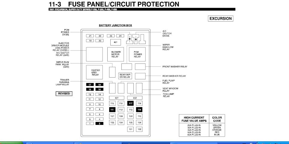 Stupendous 2001 F250 7 3 Wiring Diagram Basic Electronics Wiring Diagram Wiring Cloud Vieworaidewilluminateatxorg