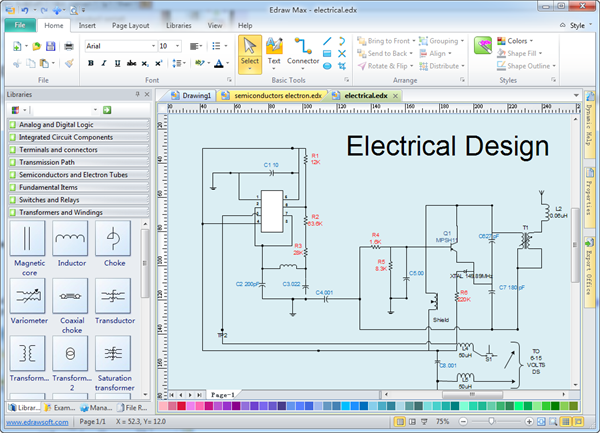Fabulous Electrical Wiring Diagram Generator Basic Electronics Wiring Diagram Wiring Cloud Lukepaidewilluminateatxorg