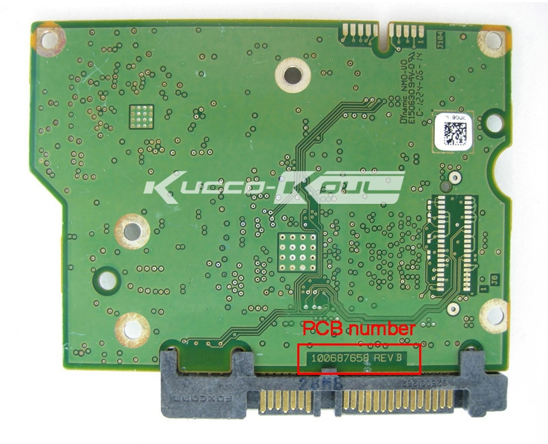 Fabulous Hard Drive Parts Pcb Logic Board Printed Circuit Board 100687658 For Wiring Cloud Overrenstrafr09Org