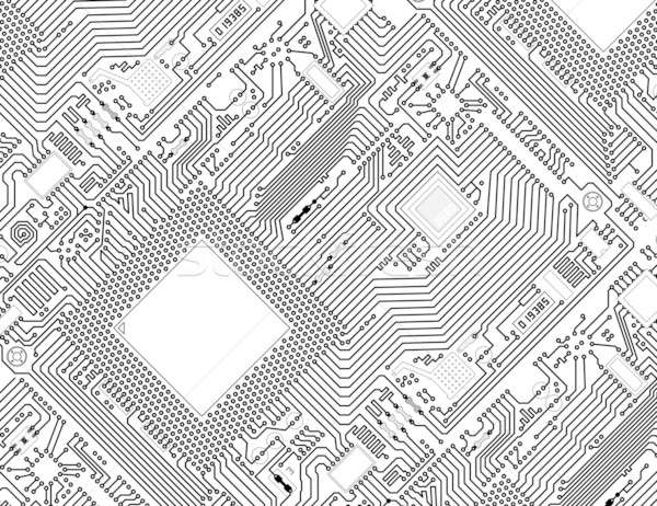 Prime Printed Monochrome Industrial Circuit Board Background Stock Photo Wiring Cloud Vieworaidewilluminateatxorg