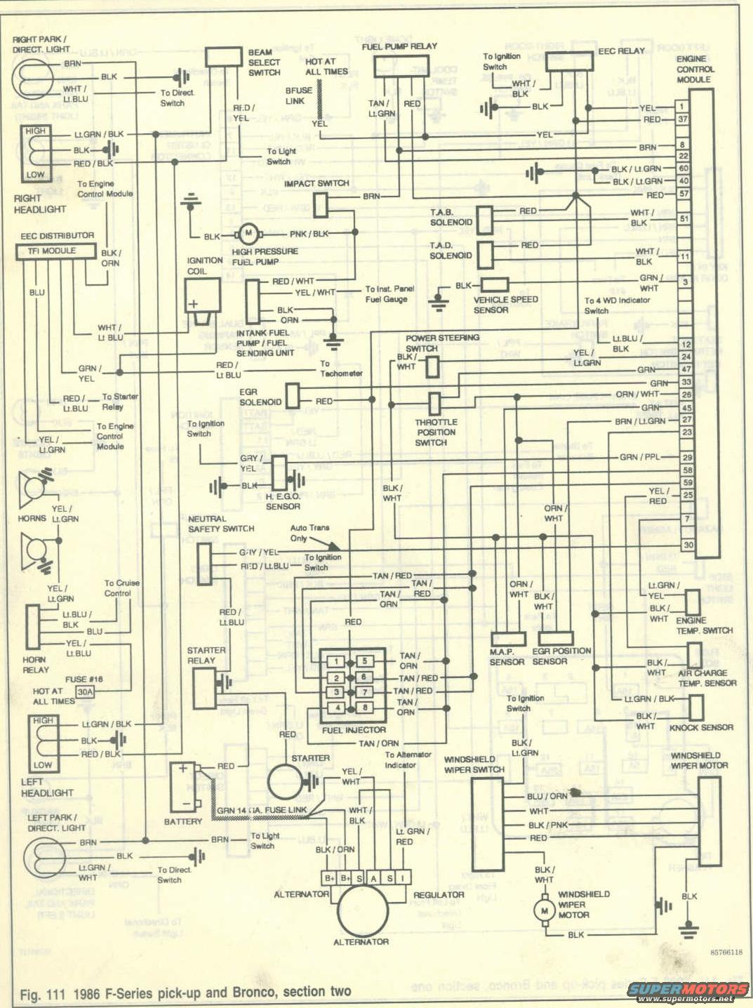 1986 F350 Wiring Diagram Wiring Diagram Frankmotors Es