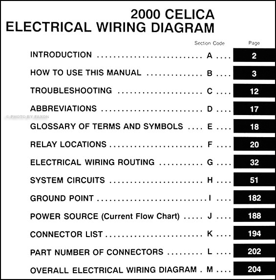 DT_8056] Toyota Celica Diagram