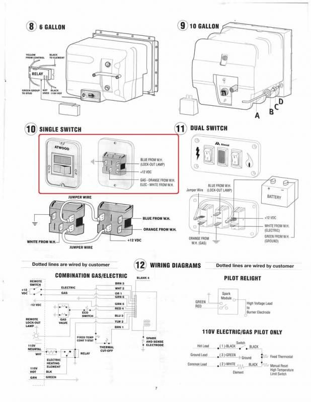 fw2206 rv electric water heater wiring diagram wiring diagram