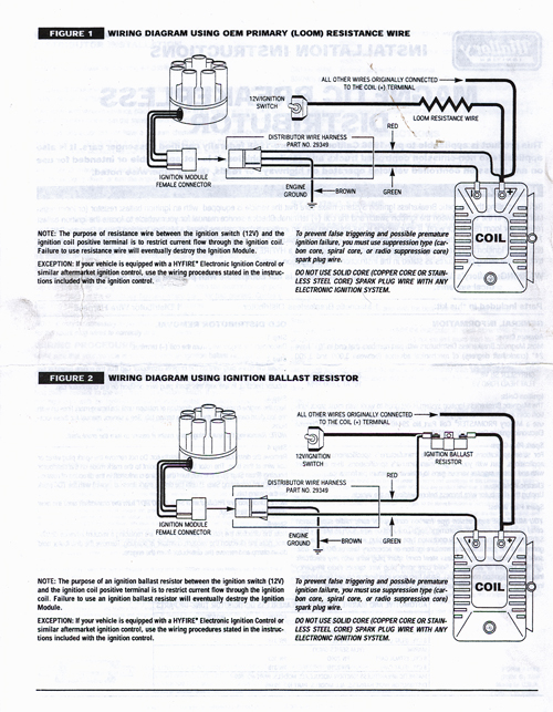 Kr 5847 Mallory Ignition Systems Wiring Diagrams Wiring Diagram