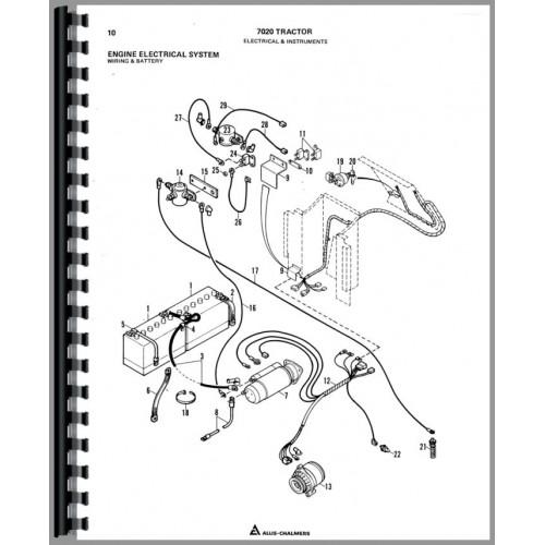 MB_3069] 611 Allis Chalmers Wiring Diagram Free Diagram